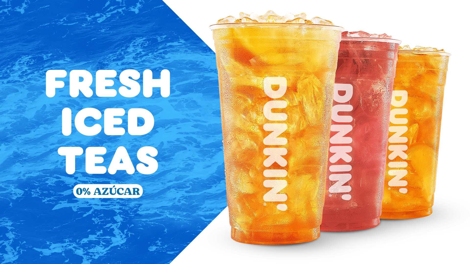 Ya puedes disfrutar de nuestros Iced Teas 0% azúcar