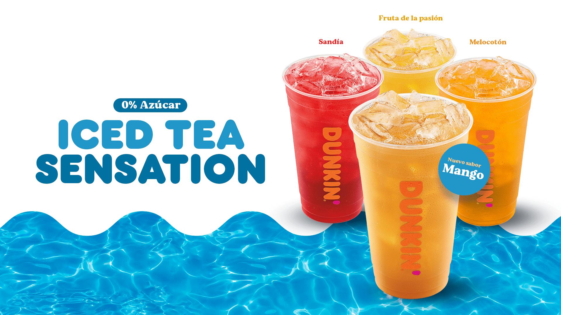 Lanzamos un nuevo sabor iced tea 0% azúcar